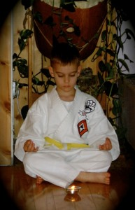 Child Meditating - Classical Martial Arts Centre