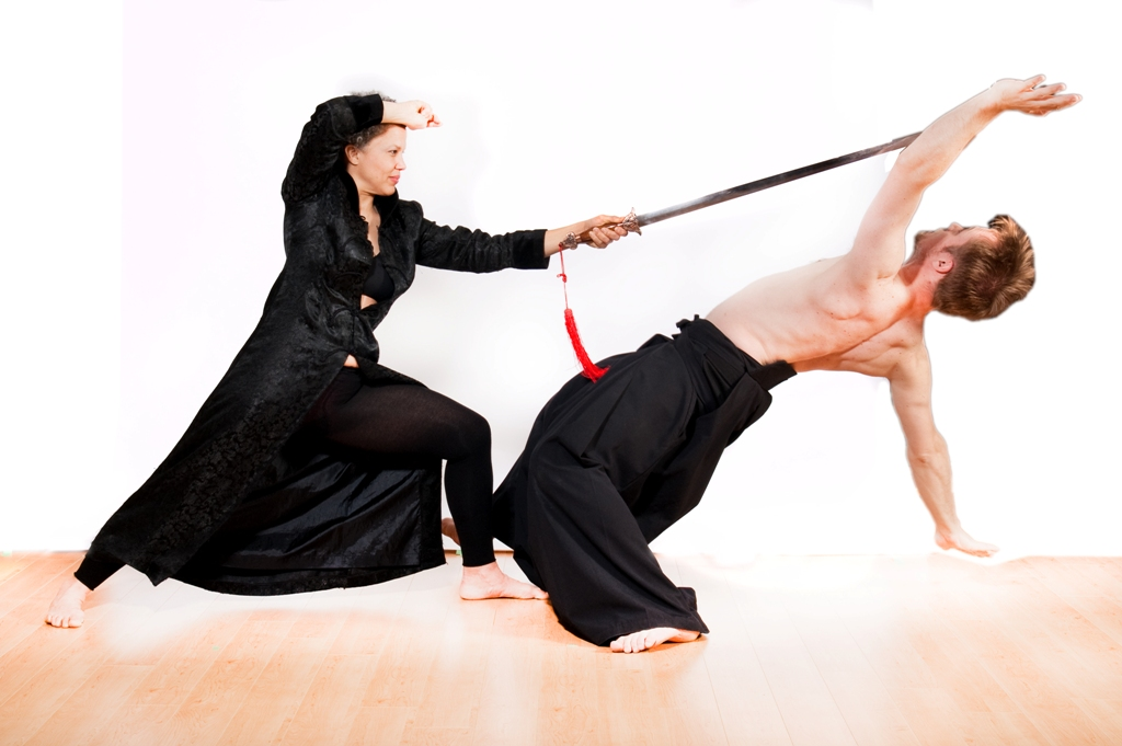 Sword Evasion - Classical Martial Arts Centre - Toronto Central Region