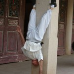 Master Wu Handstand - Classical Martial Arts Centre