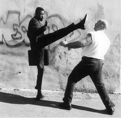 Sensei boot to the head - Classical Martial Arts Centre - Toronto Central Region