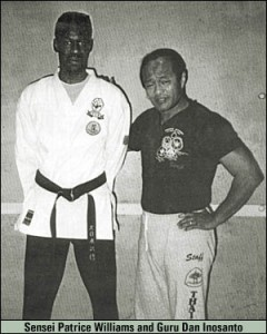 Sensei with Dan Inosanto - Classical Martial Arts Centre