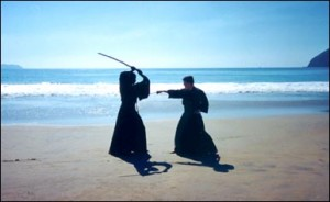 Beach Sword Confrontation - Classical Martial Arts Centre