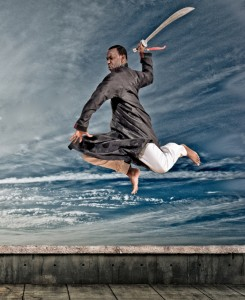 Shaolin Sword Jump - Classical Martial Arts Centre