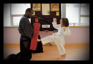 Karate Kick 1 - Classical Martial Arts Centre
