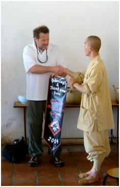 Hanshi Platt at South Shaolin  - Classical Martial Arts Centre - Toronto Central Region - Martial Arts classes offered in Toronto - Adults and Children - Karate-Do, Jiu Jitsu, Self-Defense, Tai Chi Chuan, Chi Gung, Ba Gwa, Iaido, Jodo, Kobudo, Ancient Weaponry, Kali.