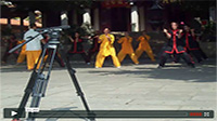 Ar shi quan Demo with Shaolin monks
