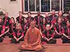 CMAC Training Tour 2013: Meditating with Yuan TOng Fa Shi, South Shaolin